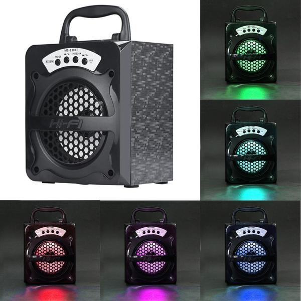 Image of Egmy® MS-130BT Outdoor Bluetooth Wireless Portable Speaker Super Bass