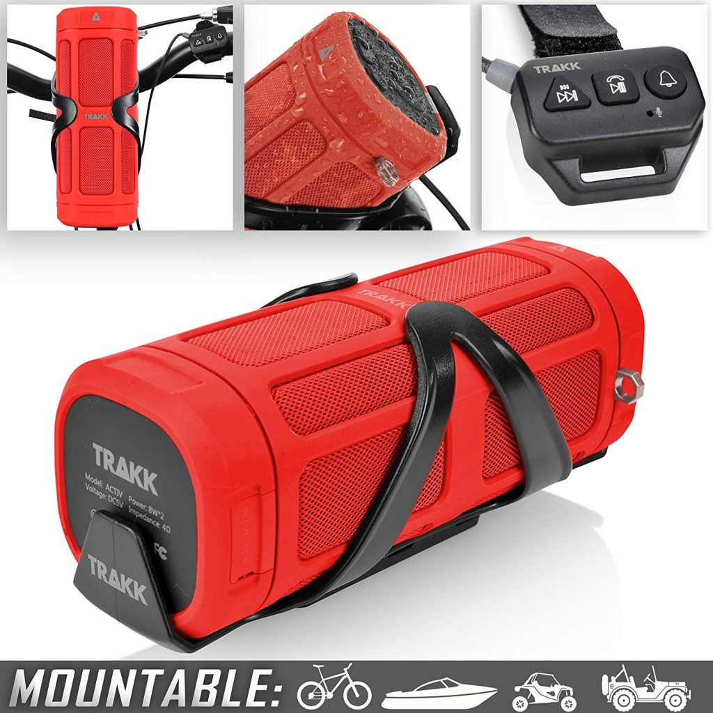 TRAKK ACTIV Bluetooth Bike Speaker