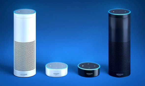 Image of Amazon Echo and Amazon Echo Dot