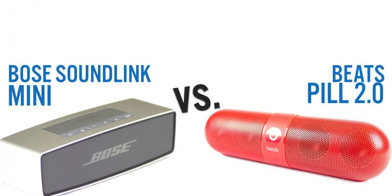 image of Bose SoundLink Mini vs. Beats Pill Wireless Speakers