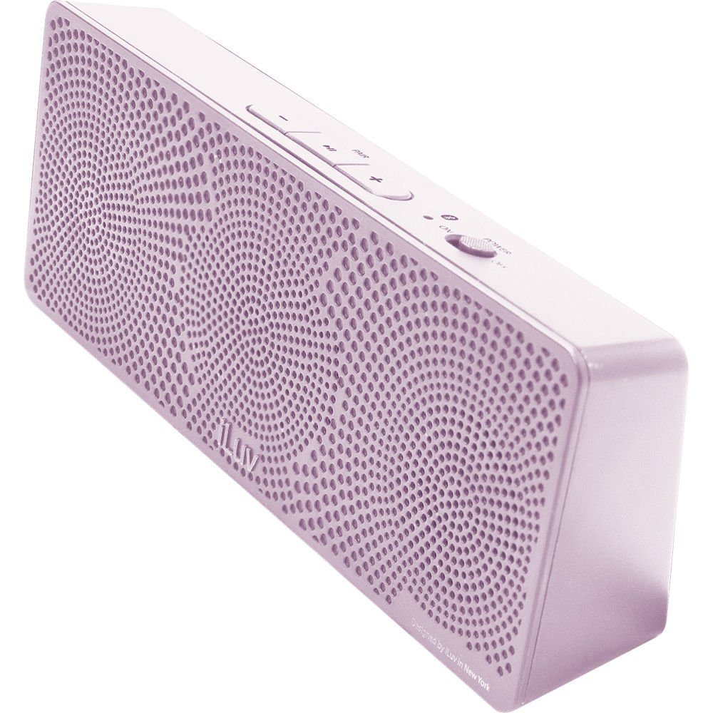 Image of iLuv MobiTour Wireless Bluetooth Speaker Light Pink