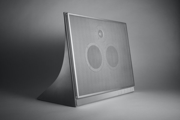 Image of A Wireless Speaker Made out of Concrete