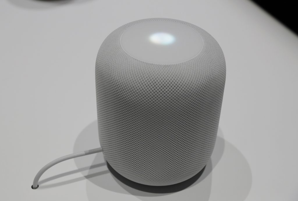 Apple Voice Activated Speaker