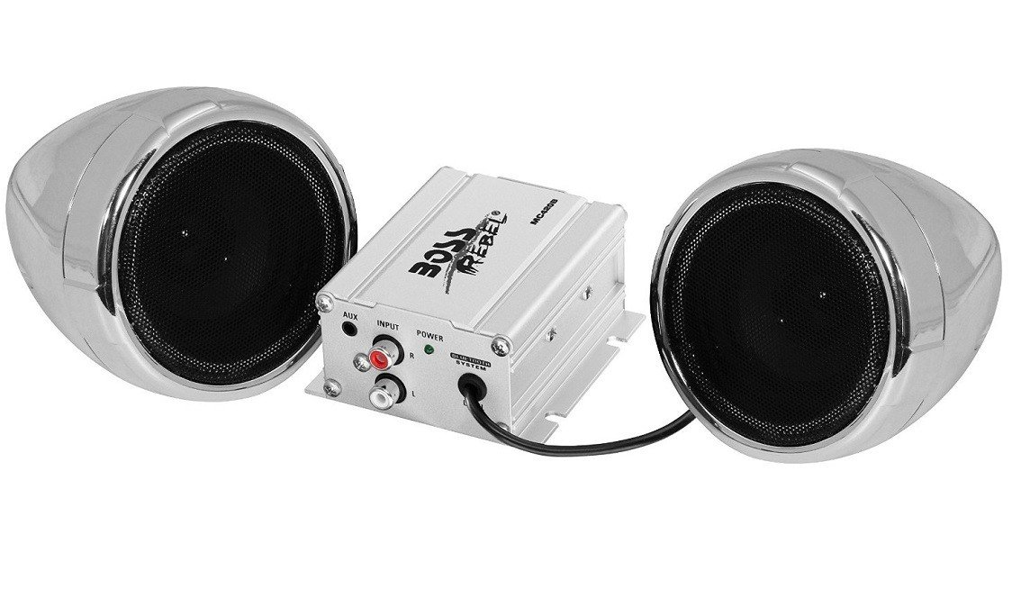 Boss MC420B Motorcycle and ATV 600W Sound System