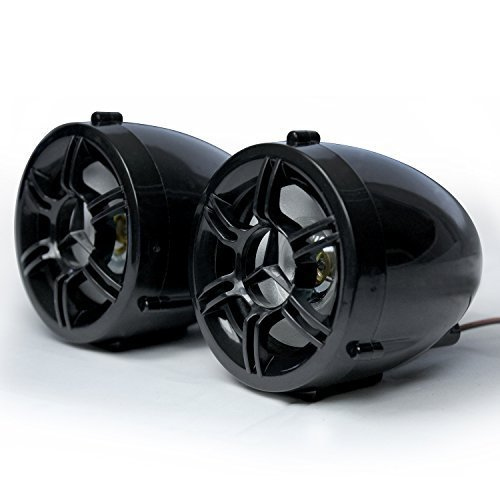 GoldenHawk USA Bluetooth Motorcycle Speakers