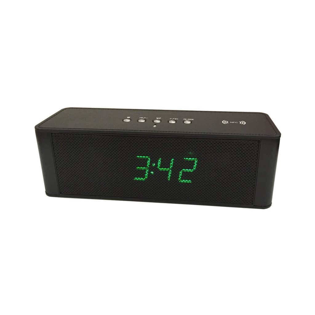 Hopestar Speaker with Digital Clock Display