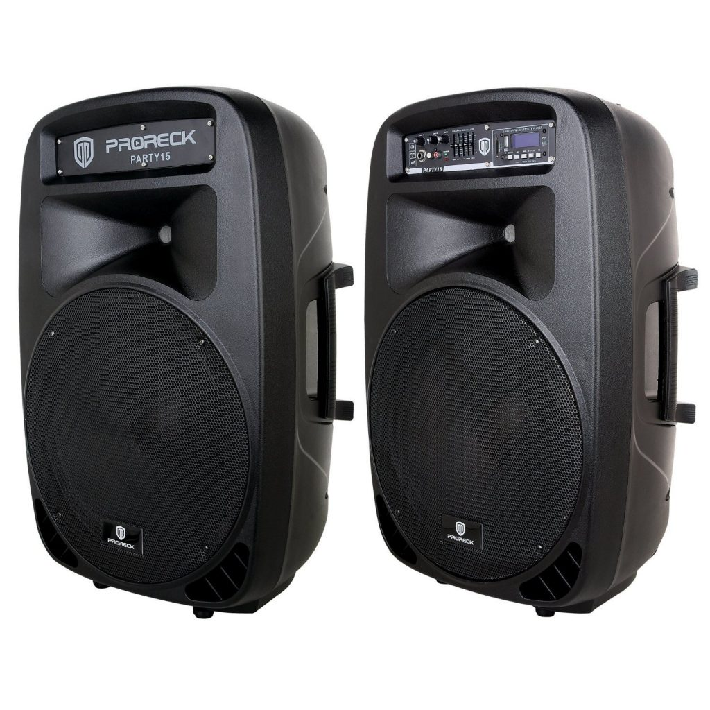 Proreck party speakers