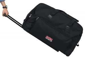 Image of Gator Cases GPA-715 Rolling Speaker Bag
